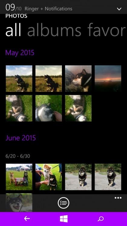 Een printscreen van het fotoalbum op mijn smartphone:)
